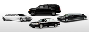 Full fleet of limos, town cars, suvs and party buses